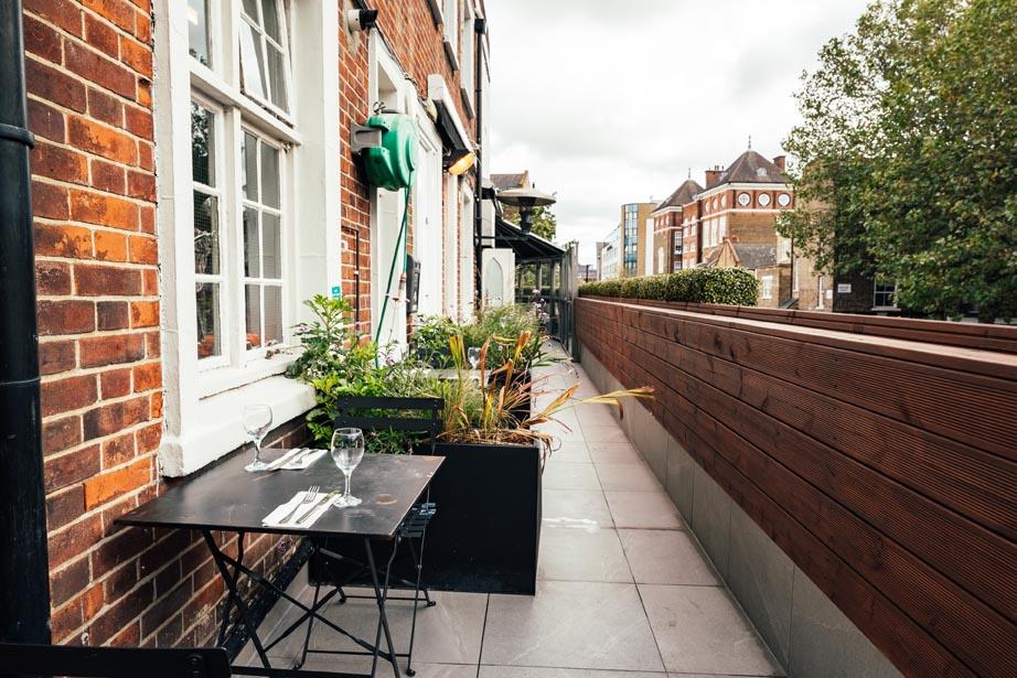 The Chapel Bar - Terrace Garden